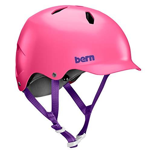 Bern Unisex-Youth Bandito Helm, pink, M/L