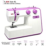 Alfa Style 40 Machine à Coudre Coloris Violet 31 Points