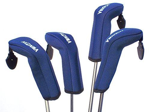 Honma Lot de 4 Housses de Golf Hybrides Bleu (Pas pour Le...
