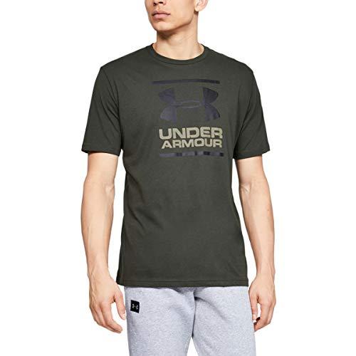 Under Armour Short T GL UA Fondation T-Shirt, Green, XS Uomo