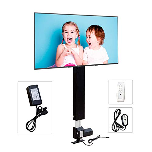 """ECO-WORTHY Automations - Motorized Vertical TV Lift for 26'' - 57"""" TVs - Remote Control for Home Use"""