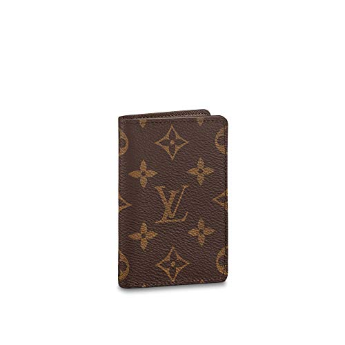 Louis Vuitton Pocket Organizer Monogram Canvas Wallet Card Case