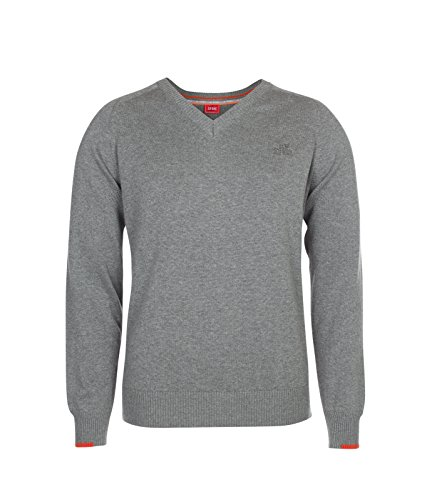 Xfore Golf Pull Tricot Bolton à col V pour Homme Manches...