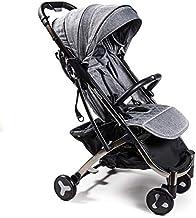 Nanetty Karibú - Silla de paseo plegable y multifuncional, unisex, color gris