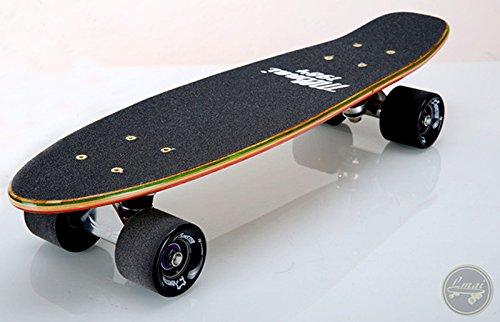LMAI 22'' Bamboo Cruiser Maple Wood Skateboard
