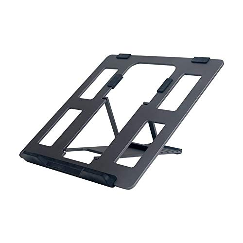 BXY Laptop Stand, Foldable And Adjustable Aluminum Computer Tablet Notebook Bracket PC Ergonomic Holder Support Portable