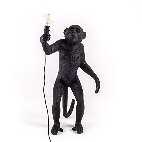 Seletti Monkey Lamp Zwart Staand (buiten)