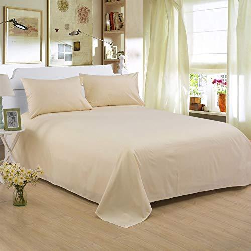 Hllhpc Pure kleur polyester katoen enkel stuk hotel huishoudelijke schuren beddengoed