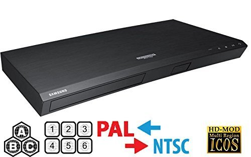 New Samsung M8500 UHD - Wi-Fi - 2K/4K - Region Free Blu Ray Disc DVD Player - 2nd Gen 4K Multi Syste...