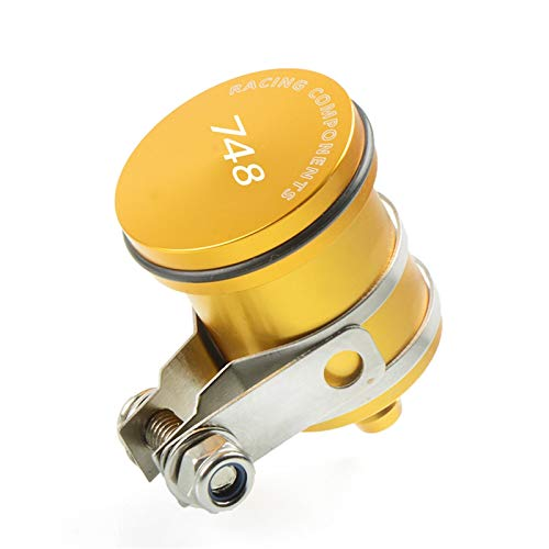 ZhengELE Freno de la Motocicleta Depósito de líquido de Embrague depósito de líquido de la Taza for Ducati 748 / S 1994 1995 1996 1997 1998 1999 2000 2001 2002 2003 (Color : Gold)