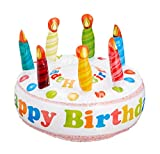 Tarta hinchable 'Happy Birthday', 26 cm