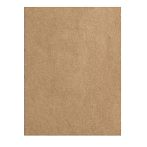 Vaessen Creative Florence 2922-099 - Papel para manualidades (200 g/m², DIN A4, 100 unidades), color marrón