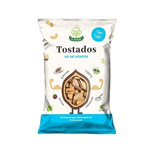 El Nogal Frutos Secos Pistacho Tostado Sin Sal Bolsa, 100 G