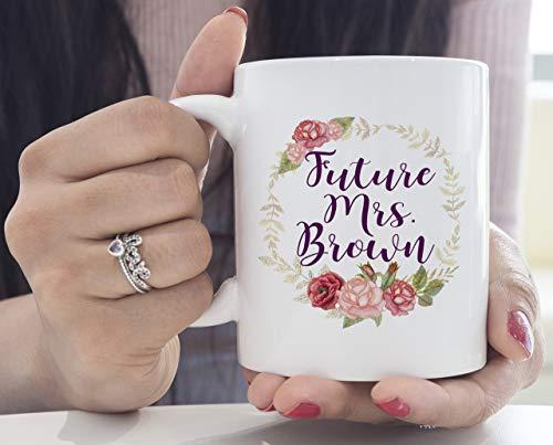 N\A aza de café Novia a ser Regalo Novia a ser Taza Futura Sra. Taza Regalo comprometido Regalo de Compromiso Me voy a Casar Dije Que sí Regalo de Amigo