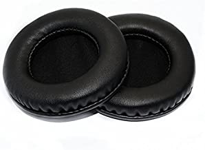 YunYiYi Leather Replacement Foam Ear Pads Pillow Earpads Cushions Cover Repair Parts for JVC Harx700 Harx900 HA-RX700 HA-RX900 Headphones (Black)