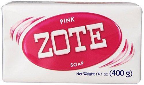 Zote Laundry Soap Bar Pink 14.1 oz by Flawless -  B00KJS6V7O