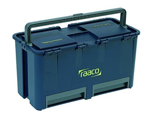 Raaco Werkzeugkoffer Compact27 inkl. 6 Einsätze