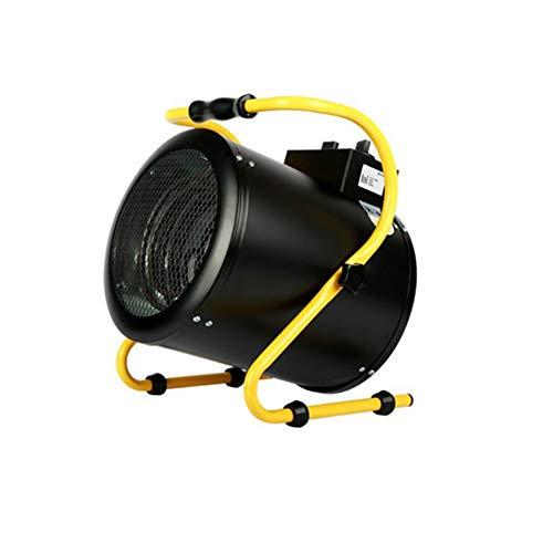 Climatización calefacción CJC Eléctrico Calentadores Ventilador 220V / 380V 3KW 5KW 9KW Inoxidable Acero Casa Industrial Taller (Tamaño : 380V/52W/4500W/9000W/Three-phase)