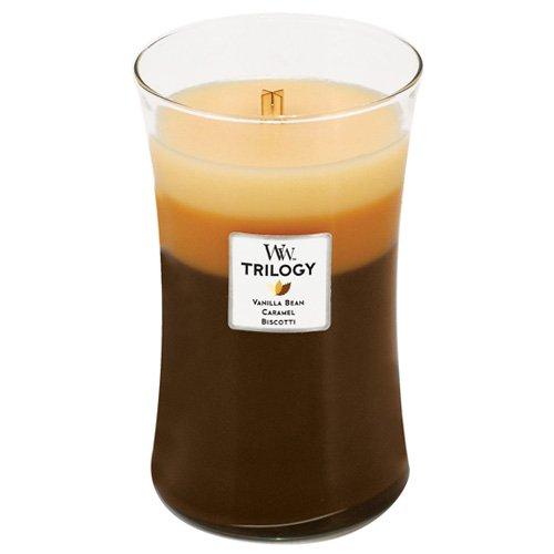 Woodwick Candle Café Sweets Trilogy Large Jar (93904)