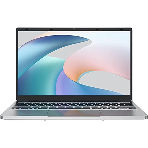 Jumper Laptop 14 Zoll FHD 8GB DDR4 256GB SSD, Intel Celeron N4020, Intel UHD 600, Windows 10 Home, Bluetooth 4.0 USB 3.0, Dualband WLAN, Erweiterbarer Speicher 256GB TF mit QWERTZ Tastaturfolie-Layout