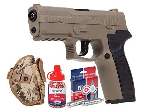 Crosman MK45 CO2 BB Pistol Kit air Pistol