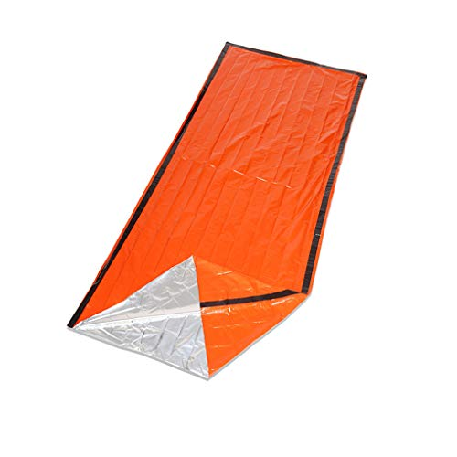 Gankmachine Outdoor Camping Sleeping Bag Portable Travel Hiking Warm Keeping Blanket Emergency Sleeping Bag