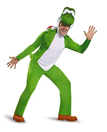 Nintendo Super Mario Bros DIS85170D Yoshi - Disfraz de Yoshi para hombre, talla L - XL