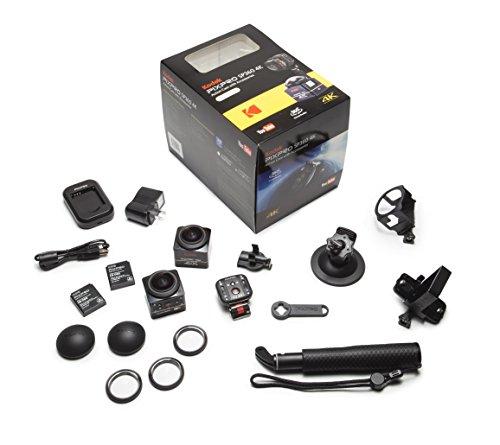 Kodak DVC-SP360 4K-BK-EU-5 PixPro Action Cam Dual Pro Pack - 2