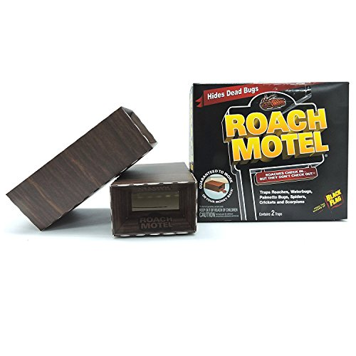 Black Flag TAT Roach Motel Traps, 2-count Packages (Pack of 6)