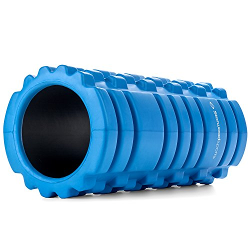 Starwood Sports Unisex's Foam Roller for Deep Tissue Muscle Massage-Trigger Point Therapy-Myofascial Release, Pink with Black Core, Large