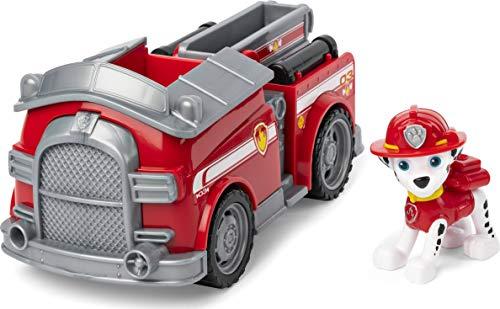 PAW PATROL, Veicolo Camion dei Pompieri di Marshall, 1 Personaggio di Marshall Incluso, dai 3 Anni