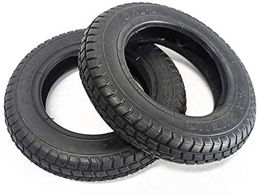 Neumáticos para patinetes eléctricos, 9 Pulgadas 2.80/2.50-4 Neumáticos Interiores y Exteriores, Antideslizantes...