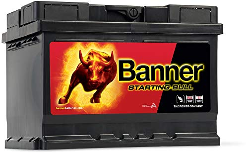 Banner Starting Bull - Batterie Calcium 55Ah