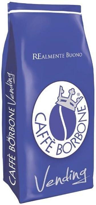 Caffè borbone caffè in grani miscela blu - 1000 gr B077MM5XWK