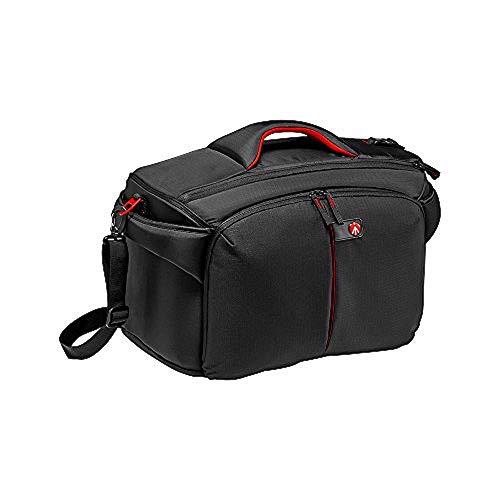Manfrotto CC-195N PL, Bolsa de Hombro para Cámaras de Video o Cámaras DSLR Profesionales y Sus Accesorios, Compacta, Compatible con Sony PXW-FS7, NEX-FS700R - Negro