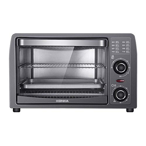 Horno electrico de sobremesa Mini horno Máquina de hornear multifuncional 13L Capacidad...