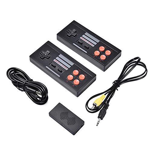 Bsopem Mini consola de videojuegos retro, Y2 HD consola de juegos HDMI HD incorporado 620 juegos de vídeo clásicos, USB Handheld Retro Gamepad Controller compatible con conectar TV y 2 reproductores
