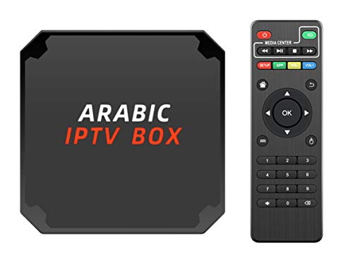 Arabic TV Box 2021 New Year Updated with More Program and APPs Quard cores and 4K Video Performance HDMI Opt USB2.0/3.0 OTA Upgraded