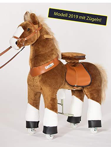 PonyCycle Inline Animals by Lucky Modell 2019 mit Zügeln (Größe: medium): Das revolutionäre Kinderfahrzeug auf Inline-Skates