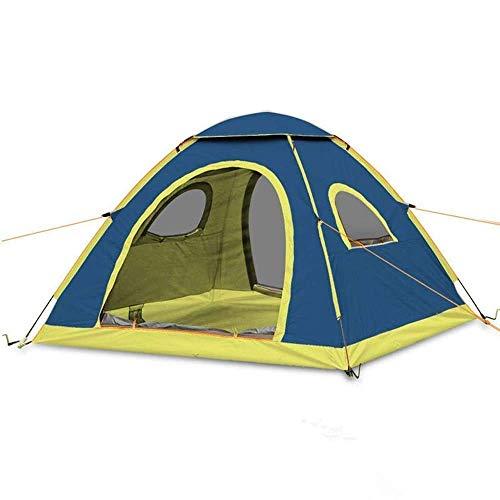 Carpas, necesidades al aire libre, salidas de prim Carpas para acampar Tienda de campaña a prueba de camping, Tienda al aire libre 3-4 personas Camping Impermeable Tienda Automática Tienda Automática