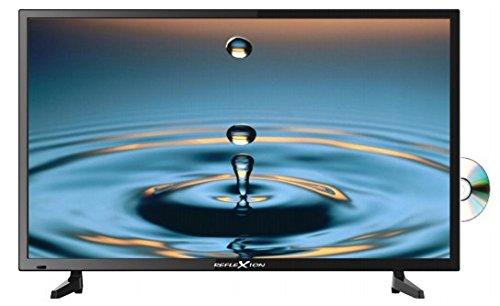 Reflexion LDD4085 102 cm (40 Zoll) LED-Fernseher mit DVD-Player, Triple-Tuner und 12 Volt Kfz-Adapter (Full HD, HDMI, DVB-S / S2 / C / T, USB, EPG, CI+) schwarz
