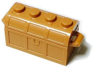 LEGOブロック・純正パーツ<コンテナ>宝箱 (1個, Medium Dark Flesh) [並行輸入品]