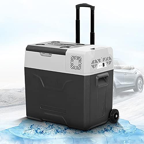XIAOLIN Congelador Portátil del Refrigerador del Coche 30l 12 / 24v DC Y 220v AC, Nevera del Compresor para Coche, RV, Camión, Camioneta, Camping Y Hogar