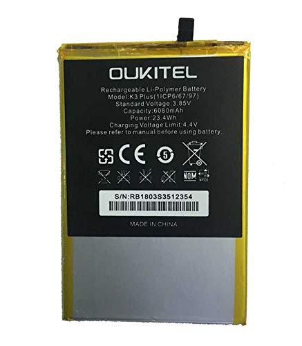 Todobarato24h Bateria Compatible OUKITEL K3 Plus 6080 mAh