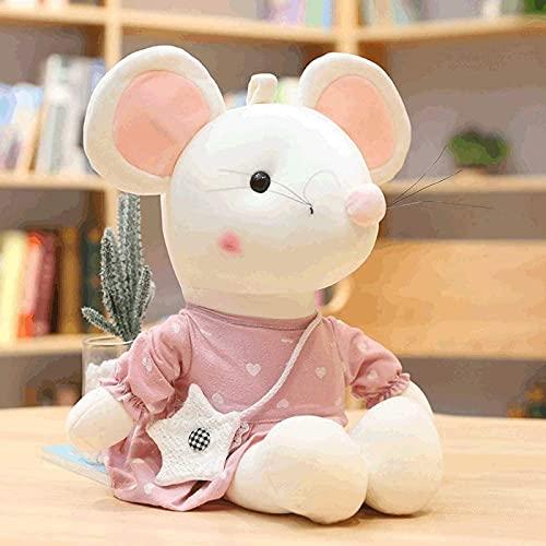 wangYUEQ Muñeca de Peluche Muñeca Muñeca Pet Animal Almohada, Cora AÑO Pet Pet Plush DOLUCIÓN Muñeca Pequeño Ratón Doll Gift 50cm