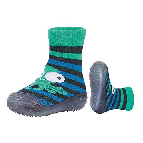 Sterntaler Jungen Adventure-Socks Qualle Aqua Schuhe, Blau (Marine 300), 24 EU