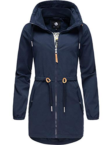Peak Time Damen Übergangsjacke Outdoorjacke L60150 Navy Gr. L