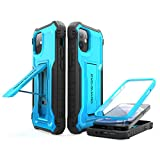 ExoGuard Compatible with iPhone 12 Mini Case, Rubber