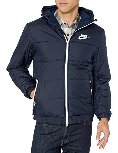 NIKE Sportswear Synthetic-Fill Chaquetas Softshell, Hombre, Obsidian/Galactic Jade/Sail/Sail, XS