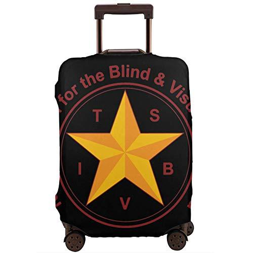 Fundas para Maletas Tsbvi Outreach Protector de Maleta de Viaje Funda de Maleta con Cremallera Cubierta de impresión de Moda Lavable por valija Protector de Maleta de Viaje